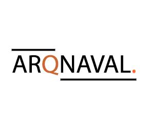 Arqnaval logo branco